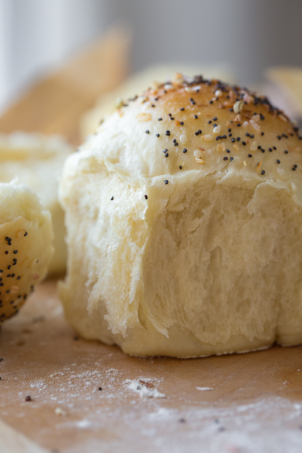 """Everything"" Homemade Rolls 