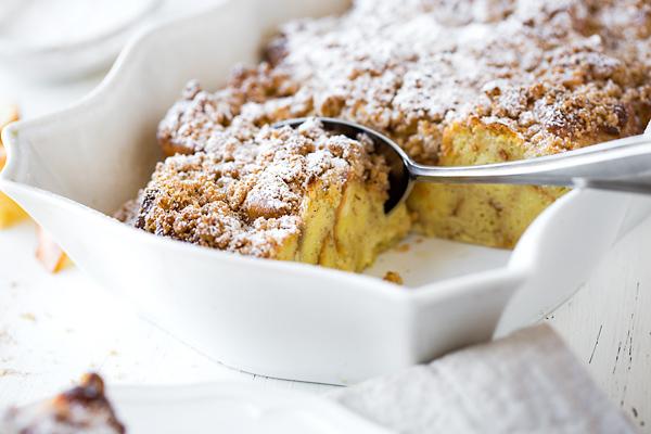 French Toast Casserole | thecozyapron.com