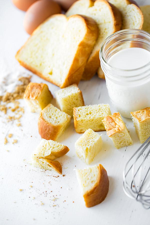 French Toast Casserole Ingredients | thecozyapron.com