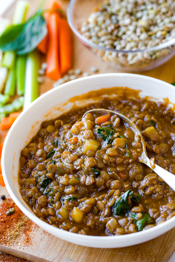 Lentil Soup | The Cozy Apron