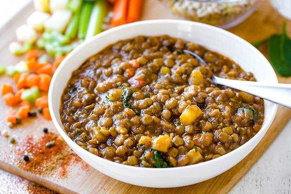Lentil Soup The Cozy Apron