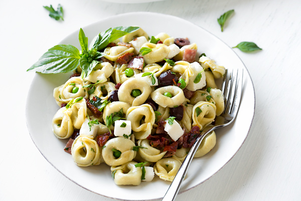 Italian Pasta Salad with Red Wine Vinaigrette