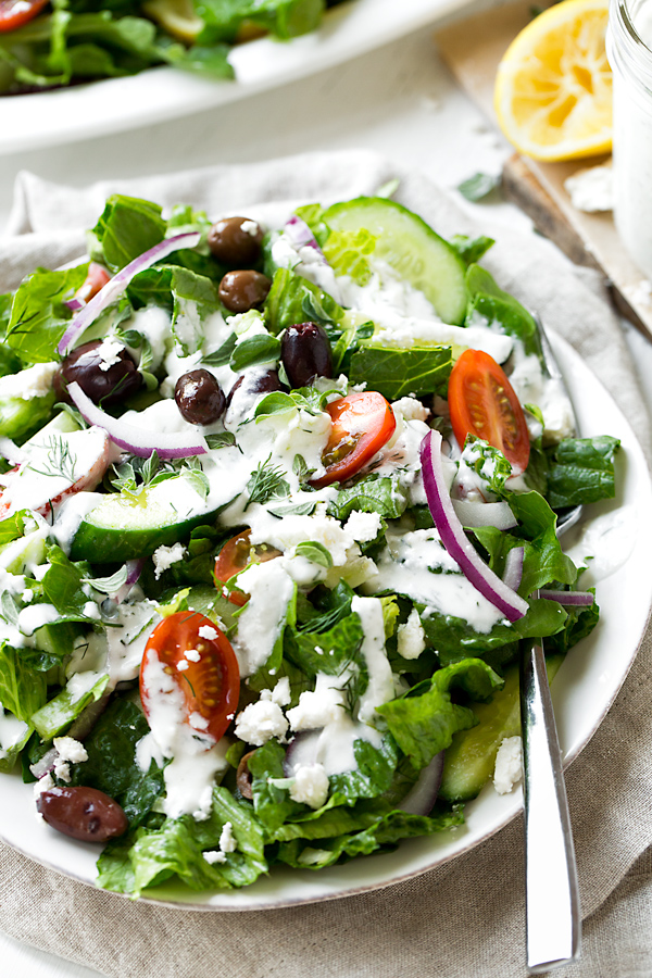 Greek Salad | thecozyapron.com