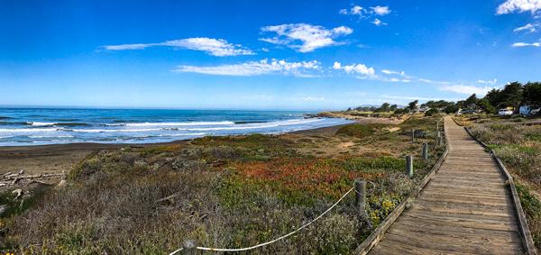 Morning, Moonstone Beach, Cambria, California | thecozyapron.com