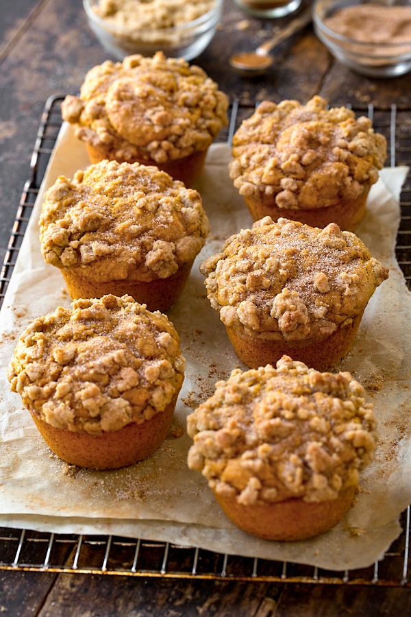 Pumpkin Muffins | thecozyapron.com