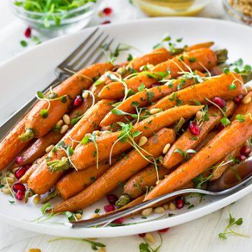 Roasted Carrots | thecozyapron.com
