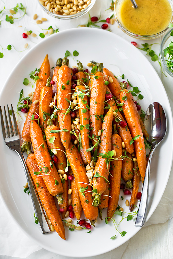 Roasted Carrots | thecozyapron.com