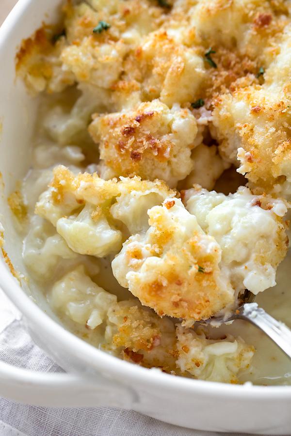 Cauliflower Casserole | thecozyapron.com