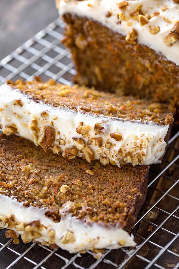 Carrot Cake Loaf | thecozyapron.com