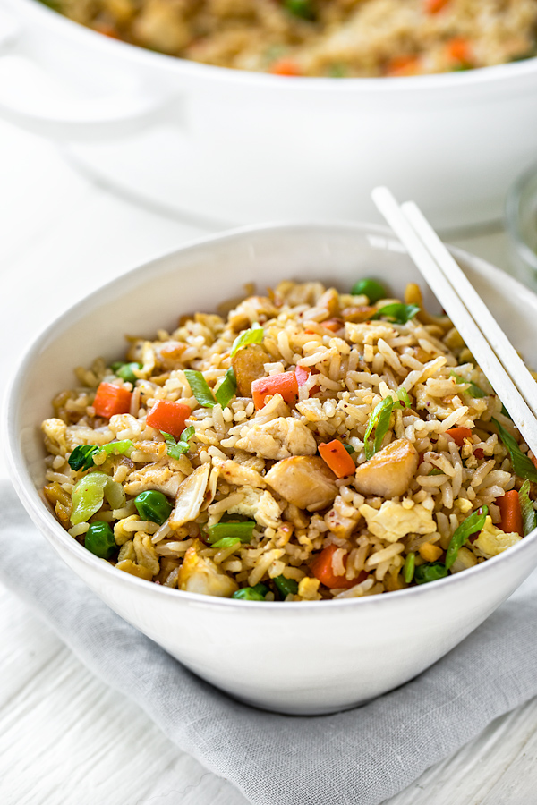 Chicken Fried Rice | thecozyapron.com
