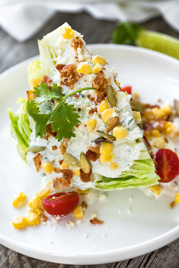 Mexican Wedge Salad | thecozyapron.com