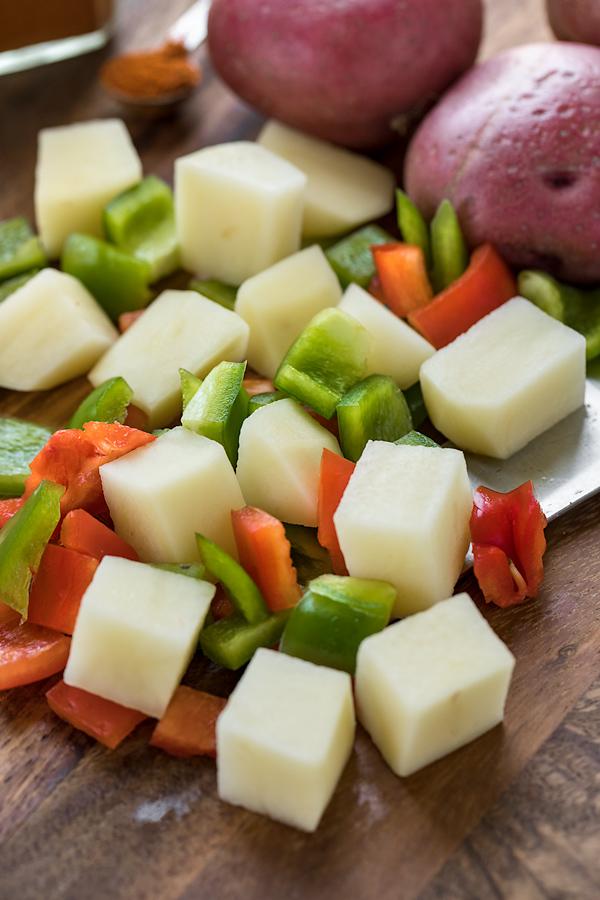 Breakfast Potatoes Ingredients | thecozyapron.com