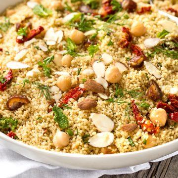 Couscous Salad | thecozyapron.com