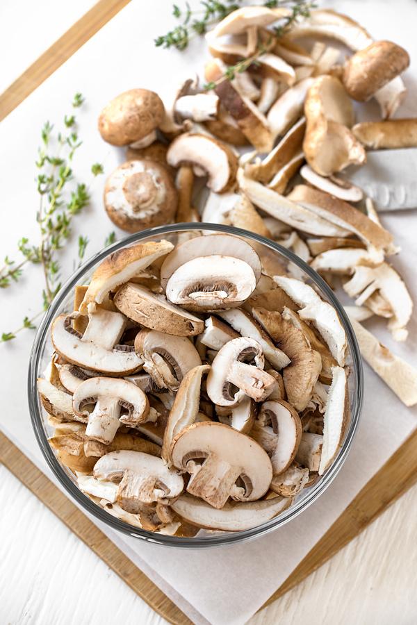 Cream of Mushroom Soup Ingredients   thecozyapron.com