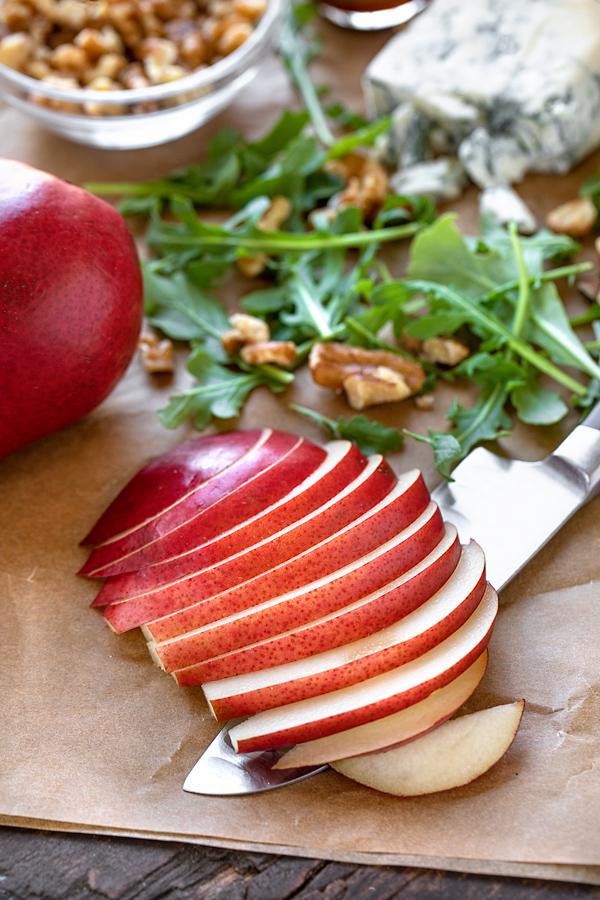 Ingredients for Savory Pear Tart | thecozyapron.com