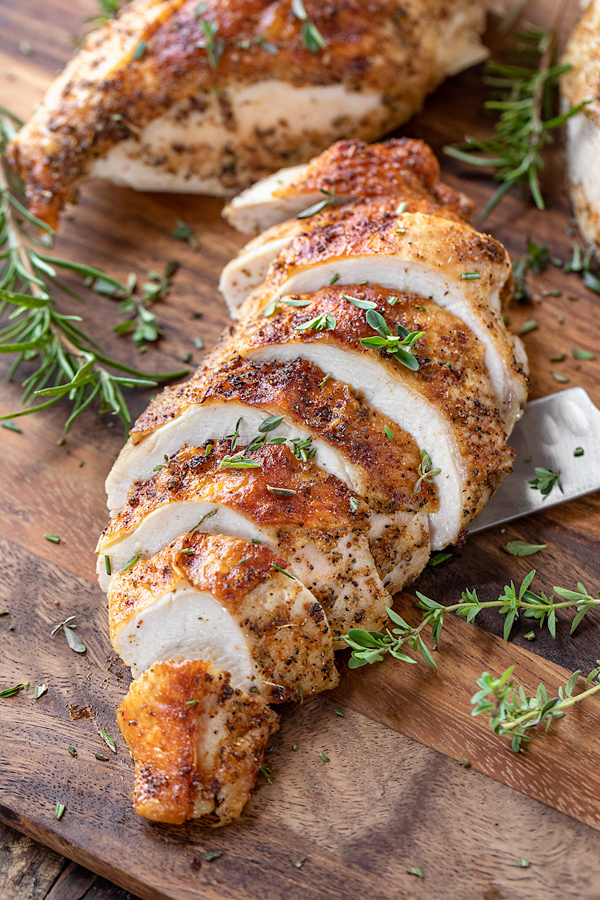 Roasted Chicken Breasts | thecozyapron.com