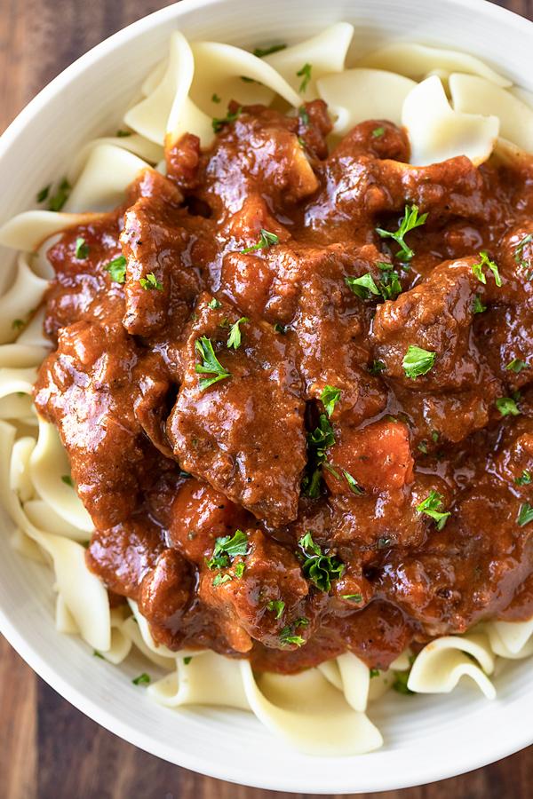 Beef Goulash | thecozyapron.com