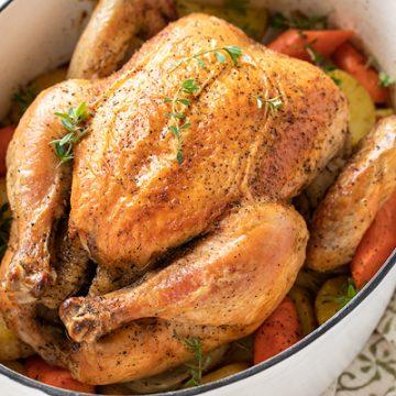 Chicken Pot Roast | thecozyapron.com