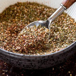Za'atar Seasoning | thecozyapron.com