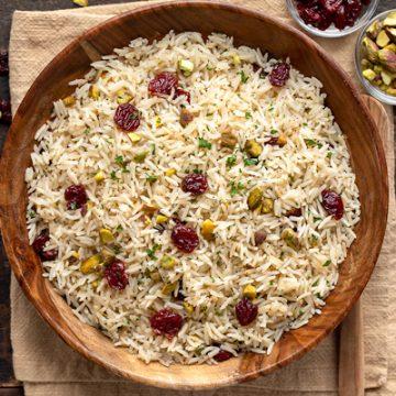 Rice Pilaf | thecozyapron.com