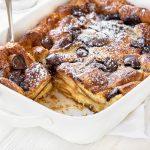 Croissant Bread Pudding | thecozyapron.com