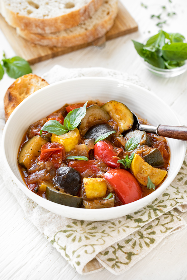 Ratatouille Recipe | thecozyapron.com