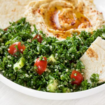 Quinoa Tabbouleh | thecozyapron.com