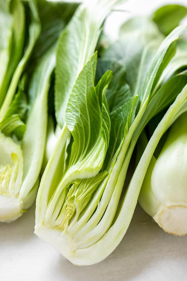 Fresh Bok Choy for Bok Choy Salad | thecozyapron.com