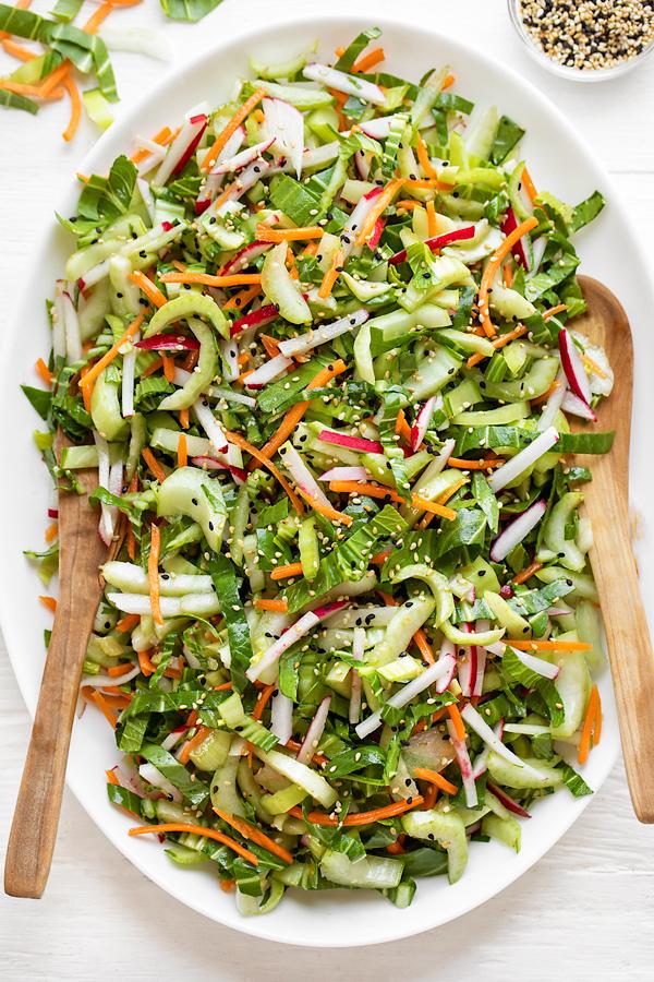 Bok Choy Salad | thecozyapron.com