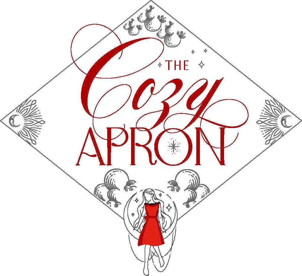 The Cozy Apron large intro logo